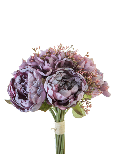 "Picture of 11"" PEONY,ROSE MIX BUNDLE"