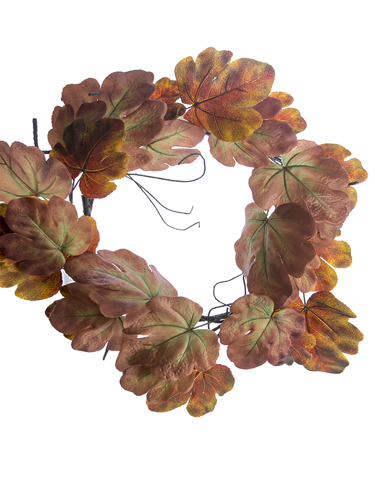 """Picture of 28"""" FIG LEAF WREATH"""