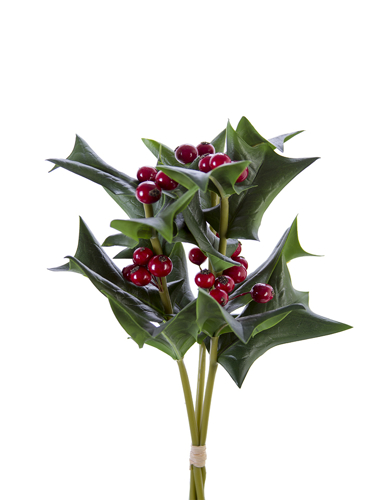"Picture of 12"" HOLLY LF & BERRY BUNDLE"