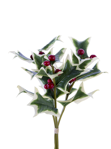 """Picture of 12"""" HOLLY LF & BERRY BUNDLE"""