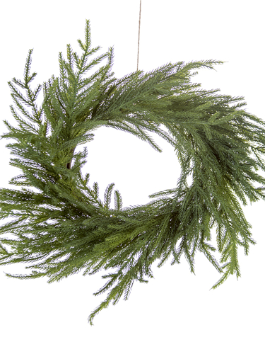 """Picture of 22"""" FIR WREATH"""