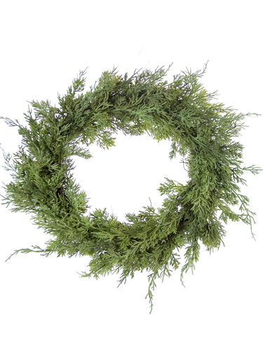 "Picture of 20"" CEDAR PINE WREATH"