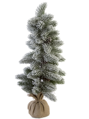 "Picture of 28""FLOCKED FOXTAIL PINE TREE"