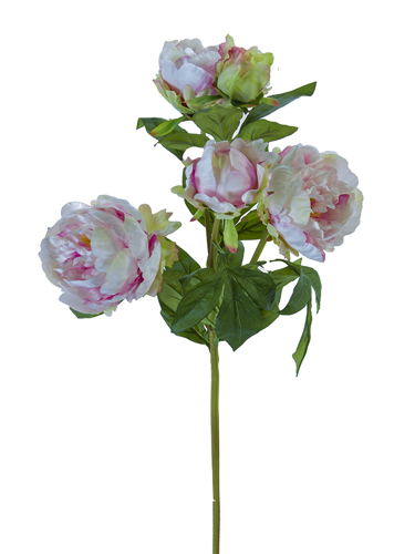 """Picture of 31.5"""" RUFFLED PEONY SPRAY"""