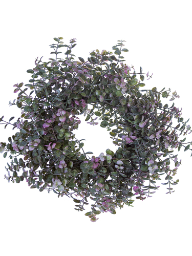 "Picture of 16"" PEBBLE EUC WREATH"