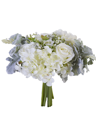 """Picture of 11.5""""ROSE,HYDRANGEA W/SEEDS"""