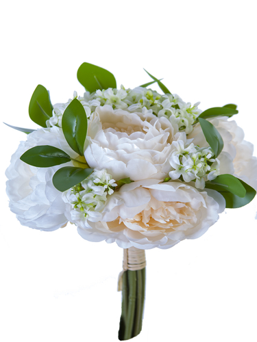 """Picture of 11.4""""PEONY W/WOODRUFF BDLE"""