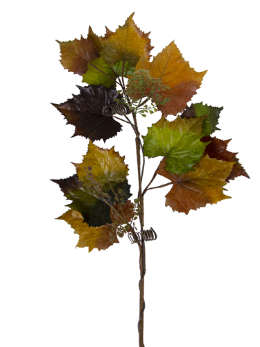 """Picture of 46"""" GRAPE LEAF BRANCH"""