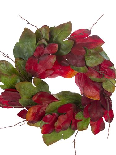 """Picture of 23"""" FIG LVS WREATH"""