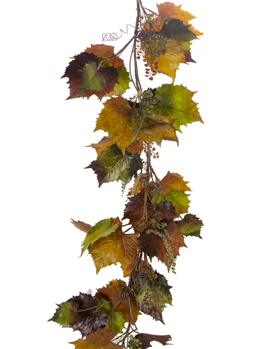 Picture of 5' GRAPE LEAF GARLAND
