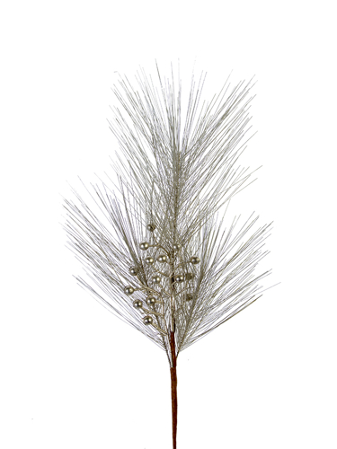 """Picture of 28"""" SHINY PINE W/BERRY SPRAY"""