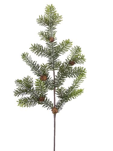 """Picture of 41"""" SITKA  PINE SPRAY W/CONES"""
