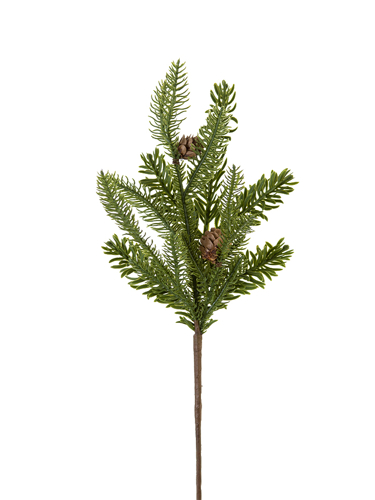 """Picture of 18"""" MIX PINE SPRAY W/CONES"""