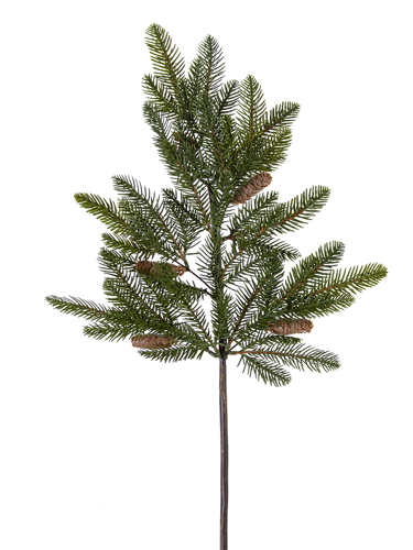 """Picture of 32"""" SPRUCE PINE SPRAY /CONE"""