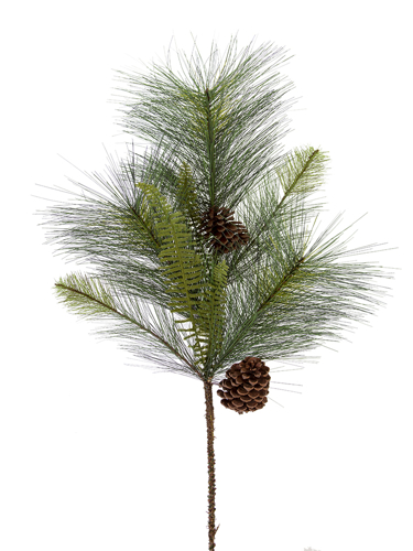 """Picture of 30"""" MIX PINE W/CONE SPRAY X 8"""