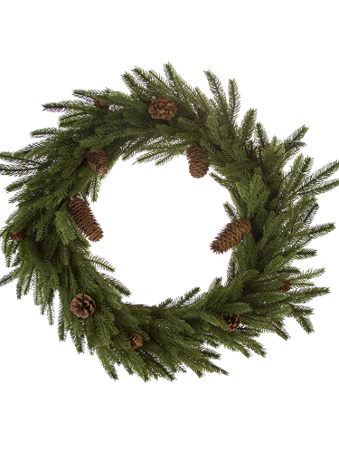 """Picture of 27"""" MOUNTAIN PINE WREATH"""