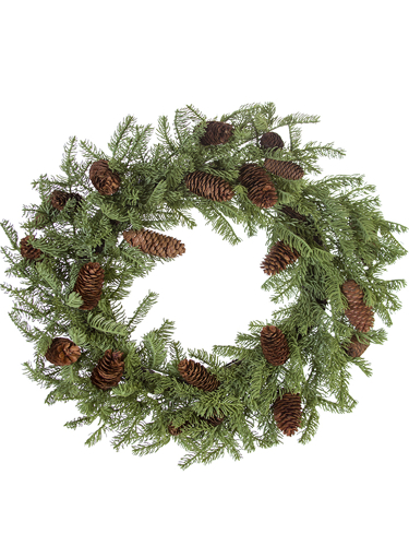"""Picture of 26"""" SPRUCE WREATH"""
