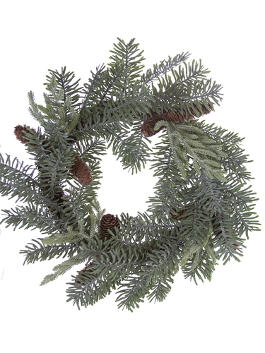 """Picture of 18"""" SITKA/BALD CYPRESS WREATH"""
