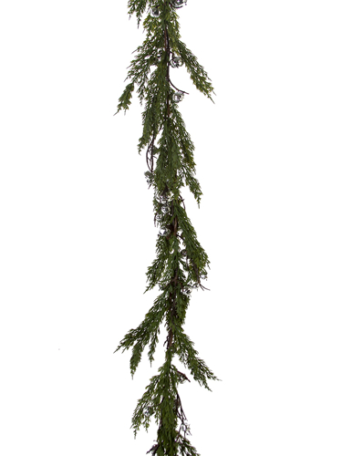 "Picture of 66"" CEDAR W/BELLS GARLAND"