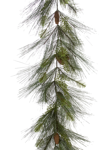 Picture of 6' MIX PINE W/CONE GARLAND