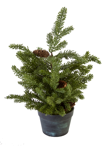"""Picture of 24"""" SITKA  PINE TREE W/CONES"""