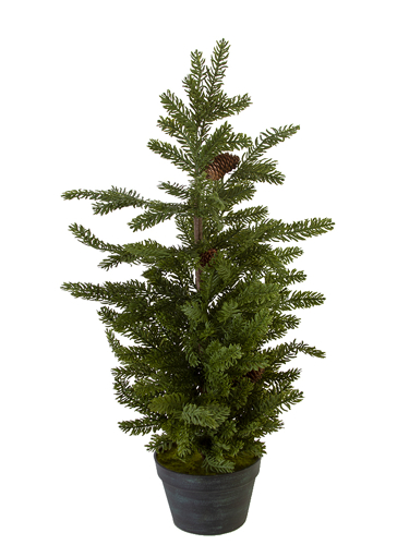 """Picture of 36"""" SITKA PINE TREE W/CONES"""