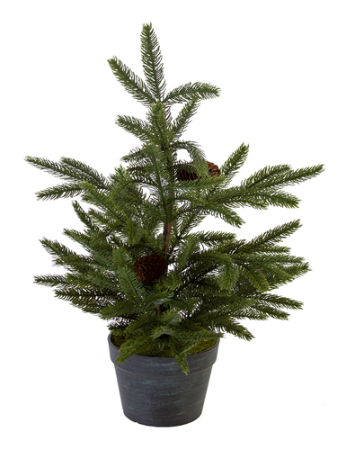 """Picture of 26"""" MOUNTAIN PINE TREE W/CONES"""