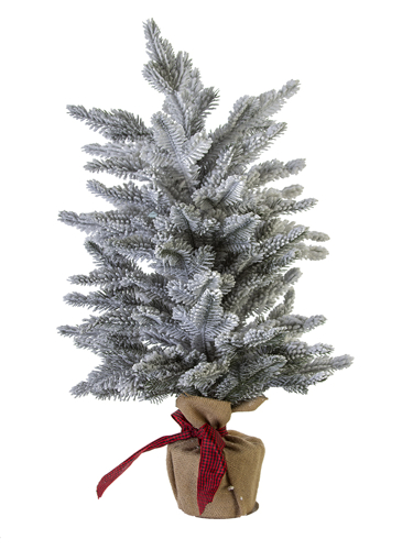 """Picture of 27"""" FLOCKED SPRUCE TREE"""