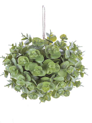"""Picture of 6"""" EUCALYPTUS BALL ORNAMENT"""